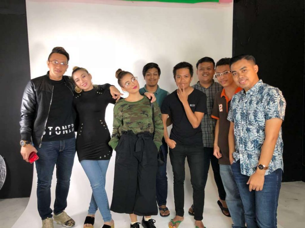 Sesi video production bersama klient