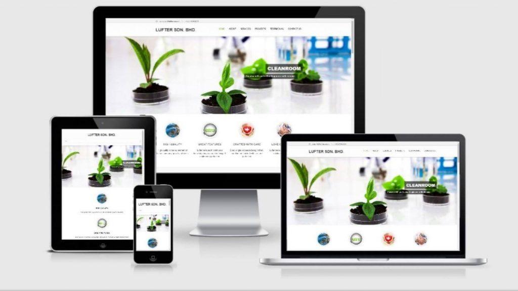 Website Lufter Sdn Bhd