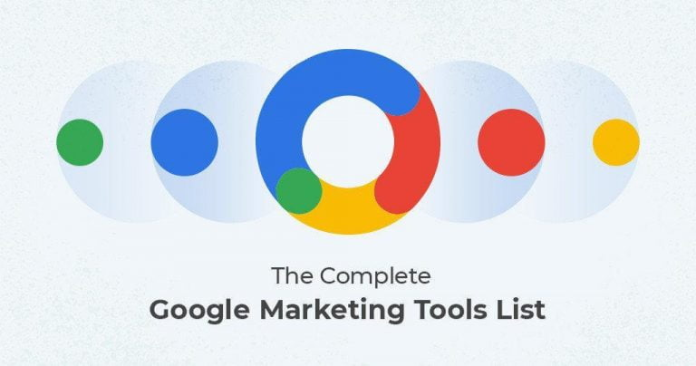 google marketing tools