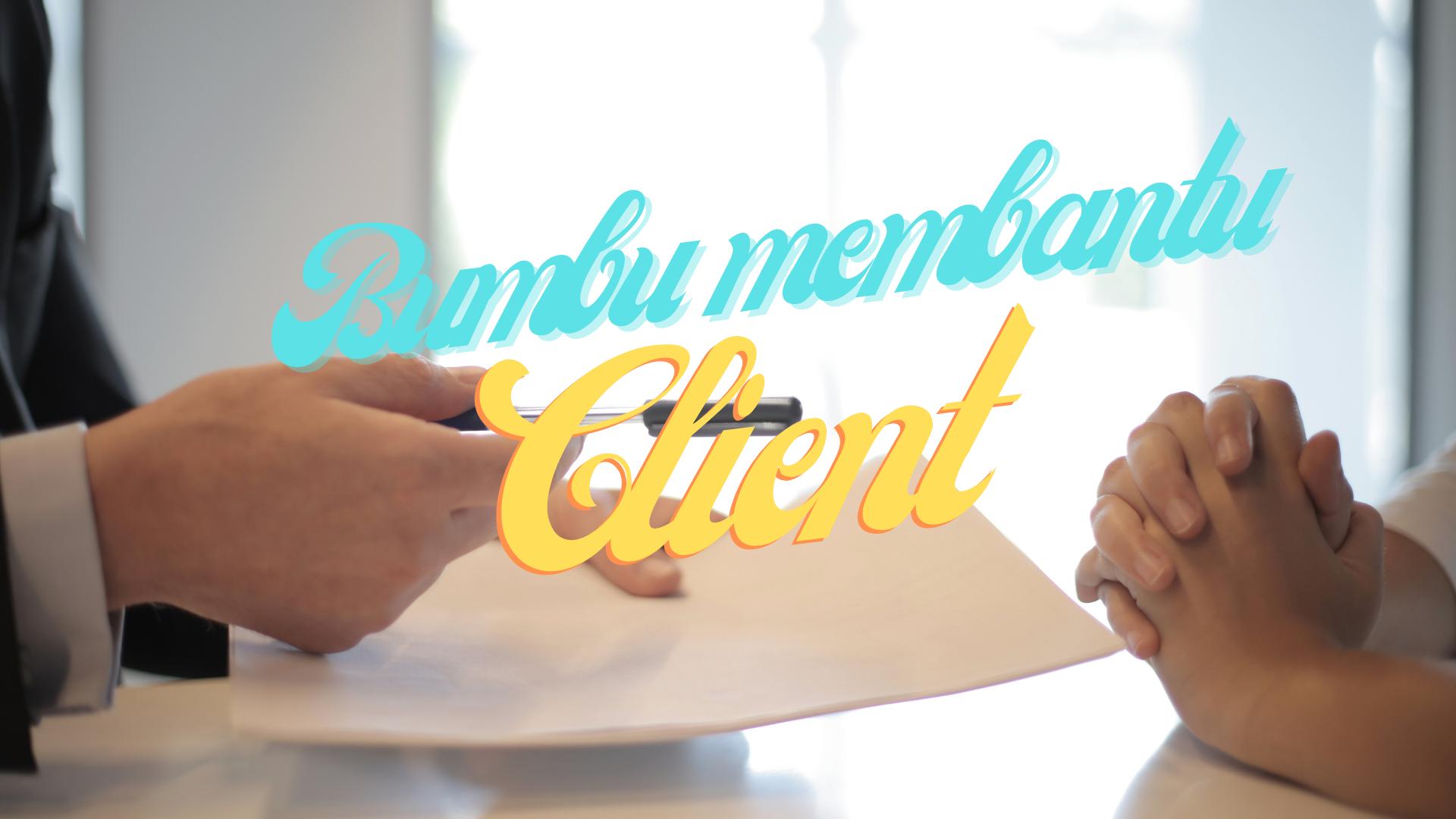 Bagaimana BUMBU AGENCY membantu naikkan marketing client